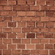 Red brick wall texture or background — Stock Photo