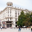 Bristol Hotel in Warsaw capital of Poland — Stock Photo