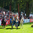 Knights tournament — Stockfoto