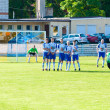 Football match — Stockfoto