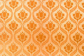 Orange seamless abstract background or texture — Stock Photo
