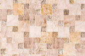 Abstract stone quadratic background or texture — Stock Photo