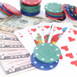 Poker play — Stock Photo