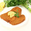 Stock Photo: Wiener Schnitzel