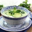 Cucumber soup - Stock Photo