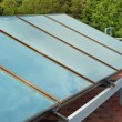 Solar system on the roof — Stock Photo #9139017