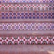 Ceramic tile walkway - Stock Photo