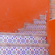 Ceramic tiles stairs — Stock fotografie