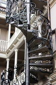 Old staircase in Tbilisi houses of 18-19 centuries, Republic of Georgia — Stock Photo