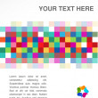 Colorful abstract banner — Stock Vector #9933096