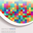 Colorful abstract banner - Image vectorielle