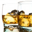 Two whiskeys — Stock Photo