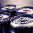 Beer cans — Stock Photo #9105755