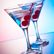 Royalty-Free Stock Photo: Two martinis