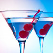 Stock Photo: Two martinis