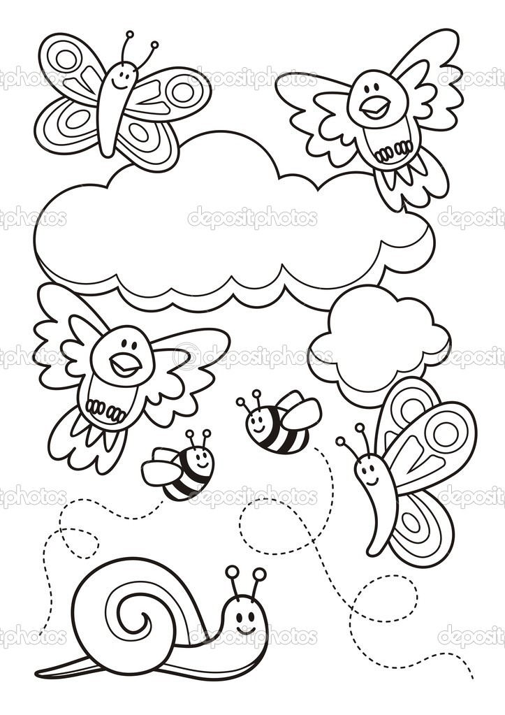healthy fractal colouring pages with coloring