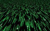 Matrix code — Stock Photo