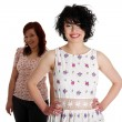Two happy woman posing — Stock Photo #10055702
