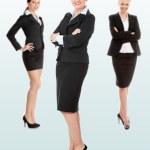 Group of three businesswomen — Stock Photo #9199209