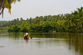River in Kerala, India — Stock Photo