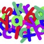 Colorful alphabet — Stock Photo #8305687