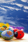 Easter eggs — ストック写真