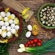 Easter eggs — Stockfoto #9337849