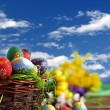 Easter eggs — Stockfoto #9426217