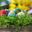 Foto Stock: Easter eggs