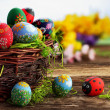 Easter eggs — Stock Photo #9441620
