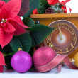 Christmas still life with — Stock Photo