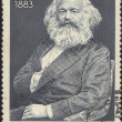 USSR - CIRCA 1968: stamp printed in USSR, shows the portrait of a Karl Mark — Stock Photo