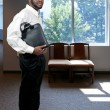 Black Business Man — Stock Photo