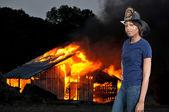 Firefighter — Stock fotografie