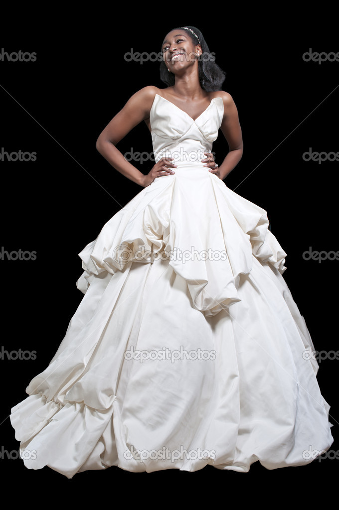 Black Woman In Wedding Dress Stock Photo Robeo123 8323493