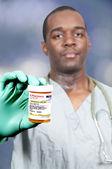 Bottle of Prescription Pills — Stock Photo