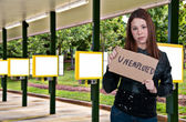 Unemployed Women — Stock Photo