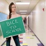 Powrót do szkoły — Zdjęcie stockowe #9292029