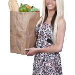 Woman Shopping Bags — Stock Photo #9293121