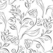Decorative seamless pattern — Stock Vector
