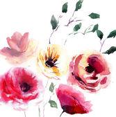 美丽的夏天花 — 图库照片