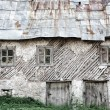 Old house in mountain village — Stock Photo