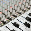 Radio mixer with buttons - Stock Photo