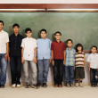 Stockfoto: From preschool to college boys