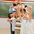 Children at school classroom — Stock Photo #10419106