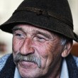 Portrait of old man with mustache — Stock Photo