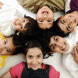 Group of happy children — Stock Photo #10419277