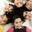 Group of happy children — Stock Photo #10419279