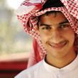 Arabic person smiling — Stock Photo