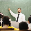 Children at school classroom — Stock Photo #10419910